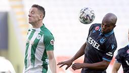 Trabzon 10 kişiyle Konya'yı geçemedi! 2 gol sesi