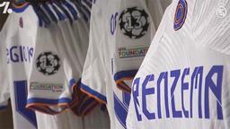 Real Madrid'in yeni sezon formaları taraftarın beğenisine sunuldu
