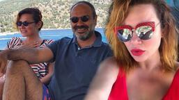 Deniz Seki ile sevgilisi İrfan Özçelik tatilde
