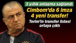 Son dakika transfer haberi: Galatasaray transfer bombalarını patlattı! Fatih Terim istedi 4 yeni transfer yolda...