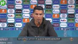 Cristiano Ronaldo'dan transfer açıklaması