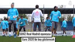Real Madrid'in Euro 2020'de forma giyen futbolcuları