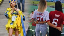 EURO 2020'ye damga vurdular! Yıldız futbolcuların eşleri tribünde