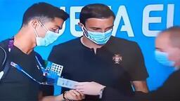 Güvenlik görevlisi Ronaldo'yu tanımadı