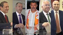 Galatasaray'da başkan adayları oylarını kullandı