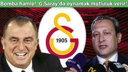 """Son dakika! Yeni başkanını seçen Galatasaray'dan bomba transfer hamlesi! Açıkladı: """"Forma giymek mutluluk verir"""""""