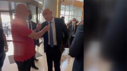 """Hikmet Karaman'ın paylaşımı: """"FIFA Başkanı ile İtalya Milli Takımı'nı değerlendirdik."""""""