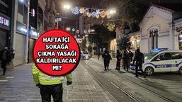 Sokağa çıkma yasağı kalktı mı, bu akşam yasak var mı 2021? Bu pazar sokağa çıkma kısıtlaması olacak mı, bitti mi?