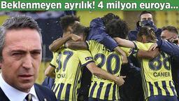 Son dakika transfer haberleri - Fenerbahçe'de beklenmeyen ayrılık! 4 milyon euroya yeni adresi...