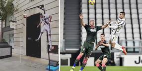 Görülmemiş deneme! Kimse Ronaldo'nun yüksekliğine ulaşamadı...