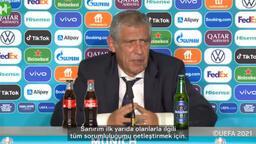 Fernando Santos Almanya mağlubiyetinin ardından konuştu