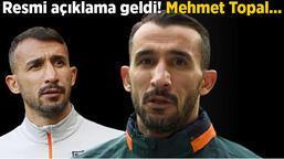 Son dakika transfer haberi - Rekorla veda etmişti, resmi açıklama geldi! Mehmet Topal...