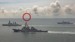 Son dakika... Rus savaş gemisi, İngiliz savaş gemisine ateş açtı