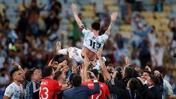 Copa America'da şampiyon Arjantin! İşte görüntüler...