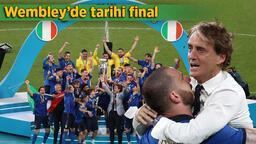 Son dakika - Nefes kesen EURO 2020 finalinde tarihi olay! 1 dakika 56 saniye...