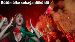 Son dakika haberi - İtalyanlar EURO 2020'de 53 yıl sonra gelen şampiyonluğu çılgınlar gibi kutladı