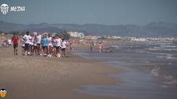 Valencia, yeni sezona Akdeniz sahillerinde hazırlanıyor