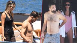 Galatasaraylı futbolcular Arda Turan ve Oğulcan Çağlayan tatilde