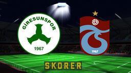 Giresunspor- Trabzonspor maçı saat kaçta, hangi kanalda? İşte, muhtemel 11'ler