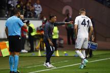 Eintracht Frankfurt - Fenerbahçe mücadelesinden görüntüler