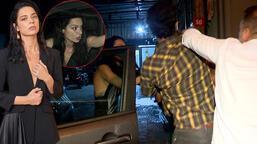 Şafak Pekdemir'in olaylı gecesi! Erkek arkadaşı muhabirlere saldırdı