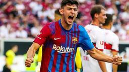 Barcelona'lı Yusuf Demir'den idmanda çok şık gol