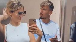Berisha'nın sevgilisinden maç sonu asansör paylaşımı
