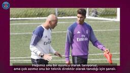 Hakimi: Zidane benim için bir baba gibi