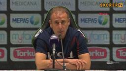 Abdullah Avcı: Oyuncularıma vazgeçmeden devam ettiği için teşekkür ediyorum
