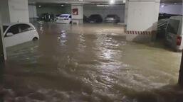 Otoparkta araçların sular içinde kalmasına KOSKİ'den açıklama