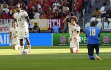 İtalya - Belçika maçından görüntüler