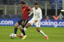 İspanya - Fransa maçından görüntüler