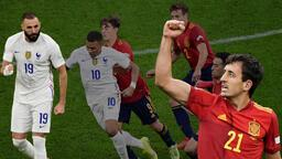 Son dakika: Fransa-İspanya finalinde muhteşem geri dönüş! Benzema geceye damga vurdu