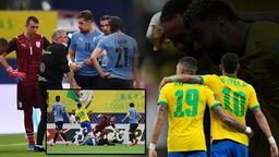 Son dakika haberi: Brezilya-Uruguay maçında gol yağmuru! Fernando Muslera yıkıldı, büyük tehlike maç sonu ortaya çıktı