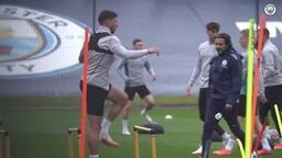 Manchester City Burnley maçına hazırlanıyor