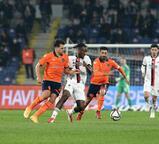 Başakşehir - Beşiktaş maçından görüntüler
