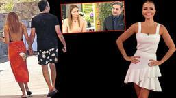 Ebru Akel yeni sevgilisiyle el ele görüntülendi