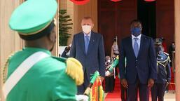 Son dakika! Cumhurbaşkanı Erdoğan Togo'da