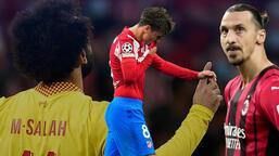Atletico Madrid-Liverpool maçına damga vuran olay! İki yıldız tarihe geçti
