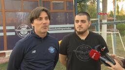 """Vincenzo Montella: """"Belhanda'ya karşı sabırlı olmak lazım"""""""