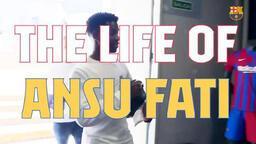 Bir göz atalım   Ansu Fati'nin hayatı