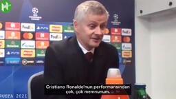 Solskjaer'den Cristiano Ronaldo'ya övgü