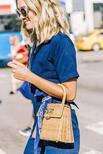 Sokak Modası: Hasır Çanta