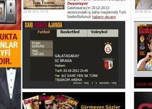 Braga maçı hangi gün?