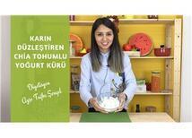 Göbek Eriten Chia Tohumlu Yoğurt Kürü