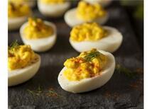 Çeşnili Yumurta Dolması