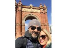 Anne Baba Tatili için Barcelona'ya kaçtık.