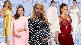 Hamile ünlülerin güzellik sırları