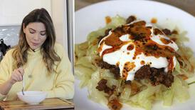 Mantı tadında lahana yemeği tarifi | Kıymalı lahana nasıl yapılır?