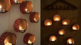 Alüminyum konserveleri ev dekorasyonunda kullanın!